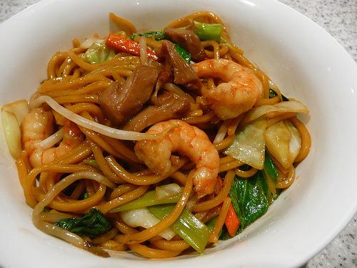 Prawn, Shrimp, Noodles