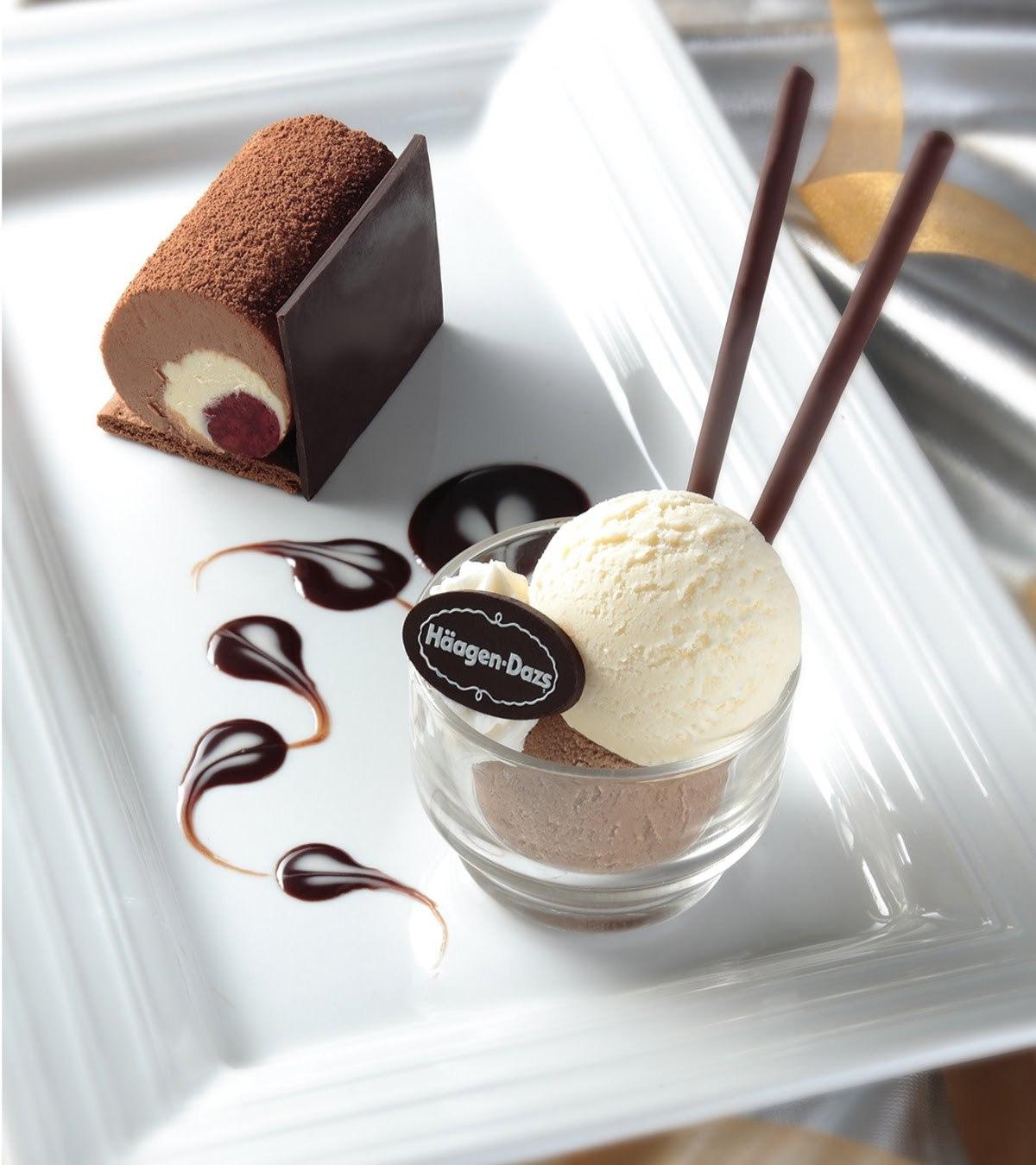 Ice-Cream, Chocolate, Haagen Dazs