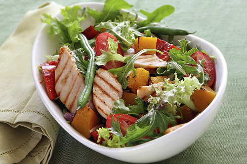 Salad, Chicken