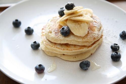Banana, Pancake, Blueberry