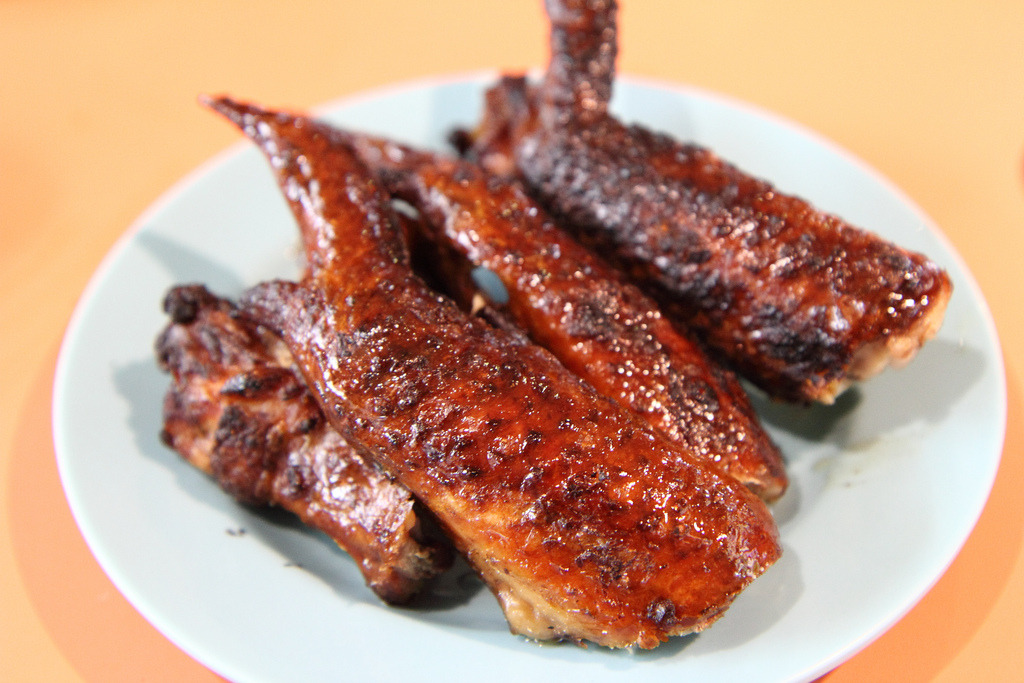 BBQ Chicken Wing (by Anthony Leow)