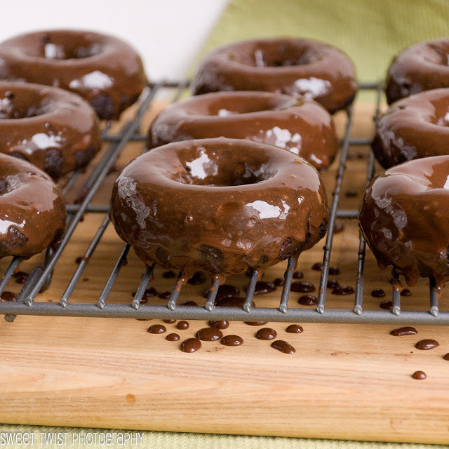 Chocolate Guinness Donuts