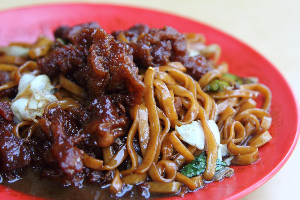 Deep Fried Pork Noodles