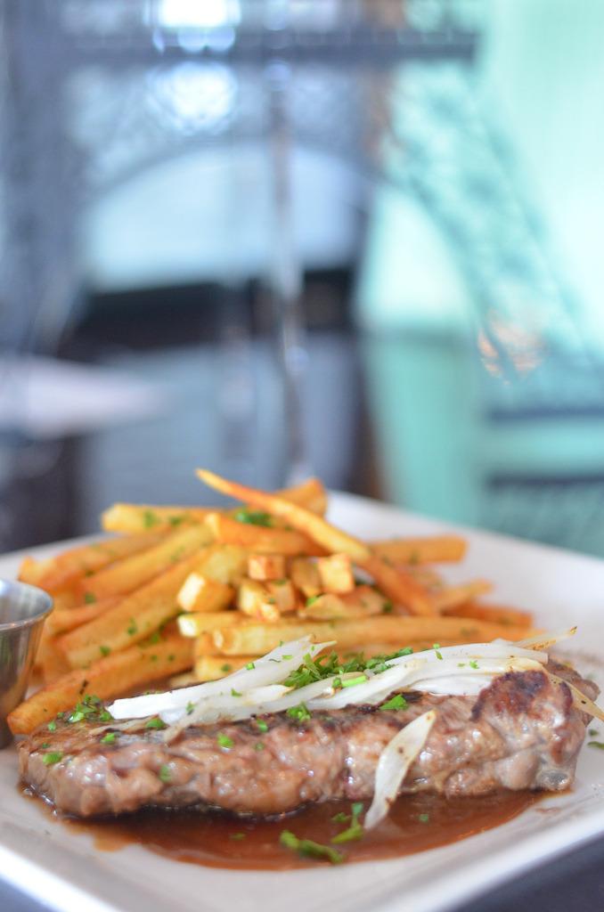 Ribeye Steak & Fries