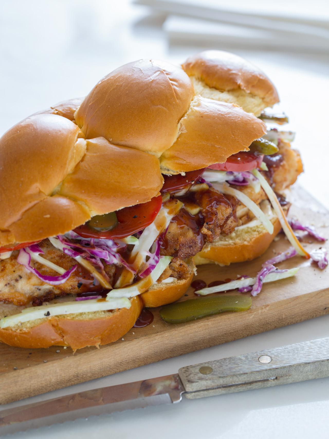 Recipe: Fried Chicken Sandwich