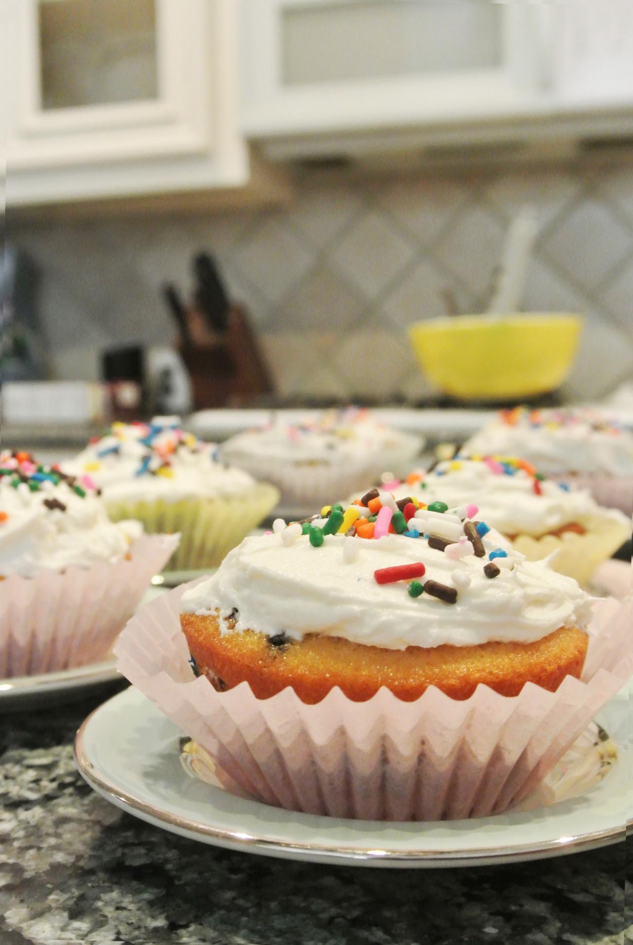 Recipe: Funfetti Cupcakes