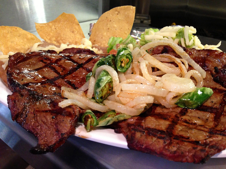 Steak, Rice & Beans