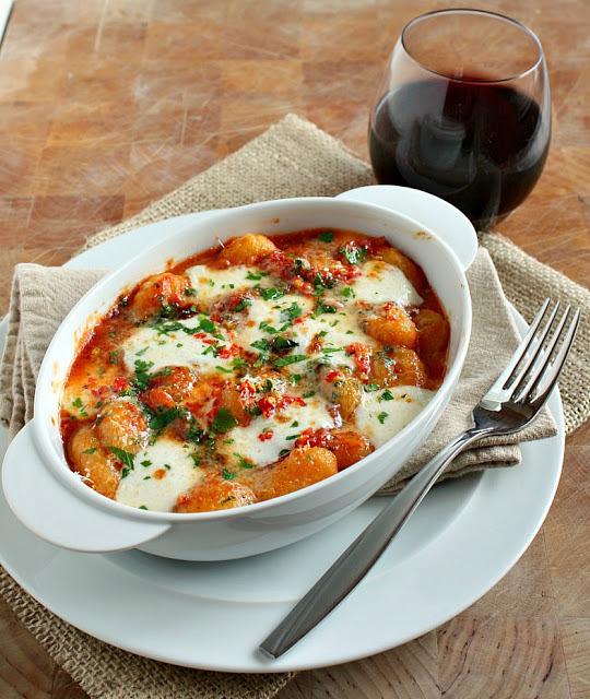 Spicy tomato & Mozzarella GnocchiRecipe