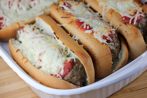 Recipe: Baked Meatball Subs