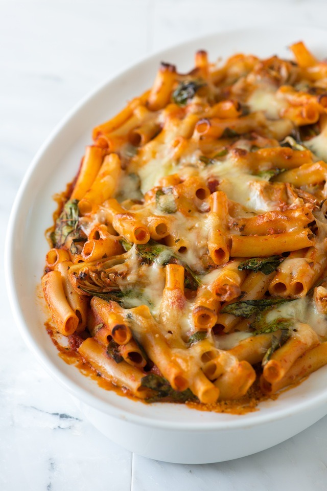 Recipe: Baked Ziti With Spinach