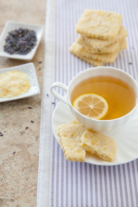 Lemon Lavender Shortbread