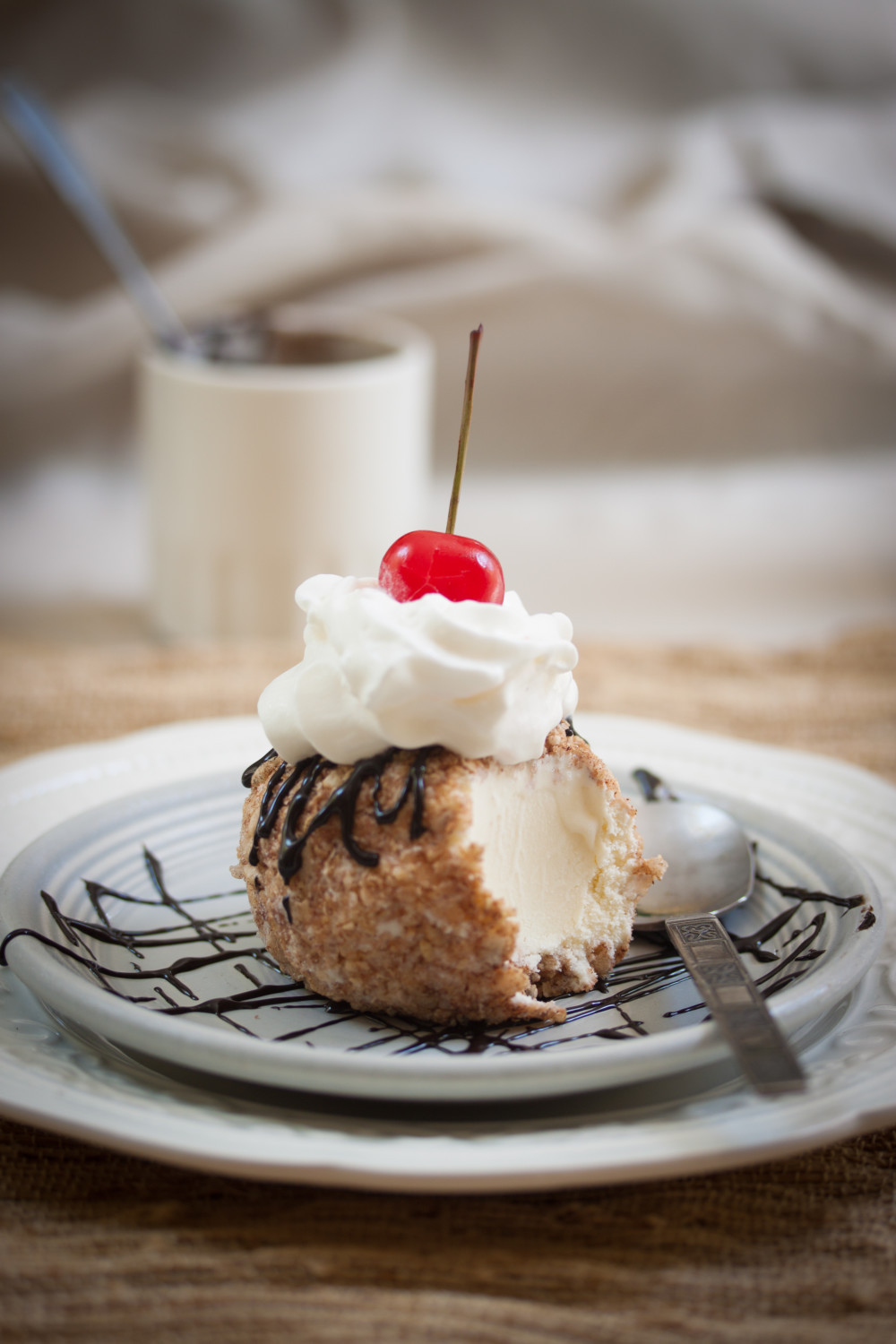 Mexican (not) Fried Ice Cream