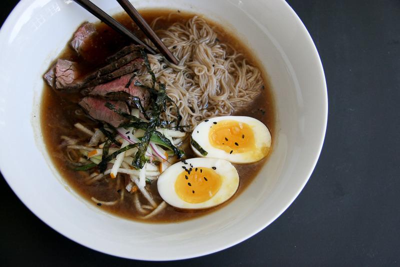 Cold Beef Noodle Soup