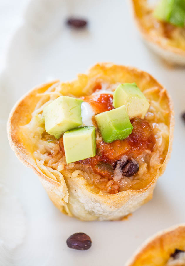 Baked Taco Cups