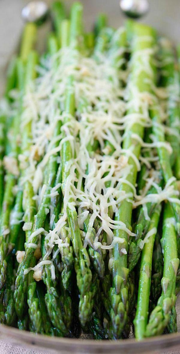 skillet parmesan asparagus