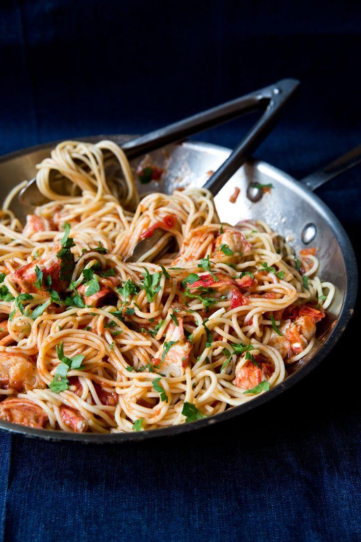 Lobster Spaghetti (Spaghetti all'Astice) Saveur